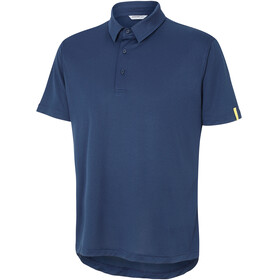 Ziener Canot Polo Shirt Men dark navy